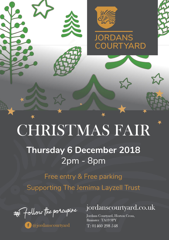hot sales bba1d 33591 2018 Christmas Fair at Jordans Courtyard | 6 December 2018 ...