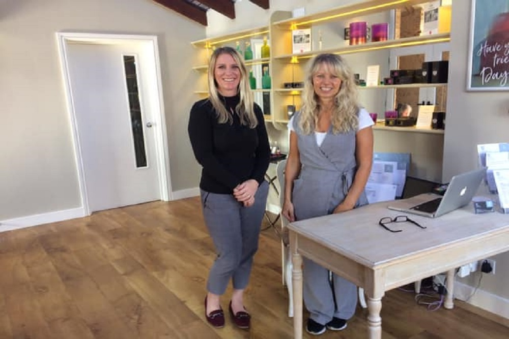 Photo of Rose and Nikki our reception team
